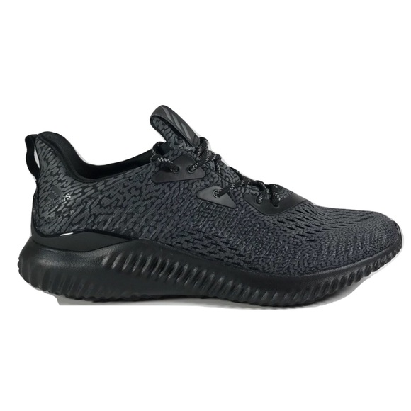 7544545a81515 Adidas Alphabounce AMS Running Shoes Black BW0428